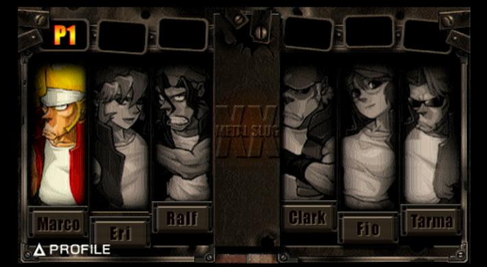 PSP - Metal Slug XX Msxx05