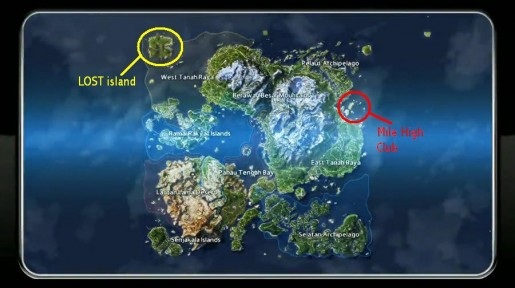Lost Island Map Just Cause
