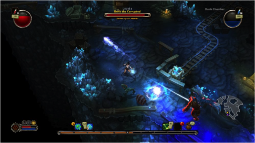 Torchlight gameplay