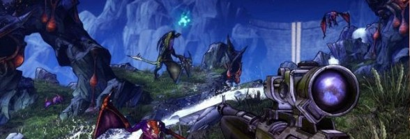 New Screenshot and Artwork For Borderlands 2 Surfaces