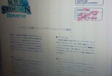 Leaked Document Outlines Super Smash Bros. Universe