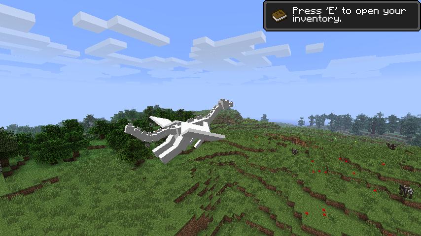 Minecraft Beta 1.10 1.9 Dragon