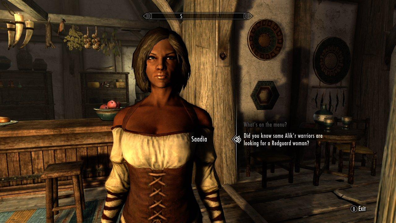 Saadia Skyrim