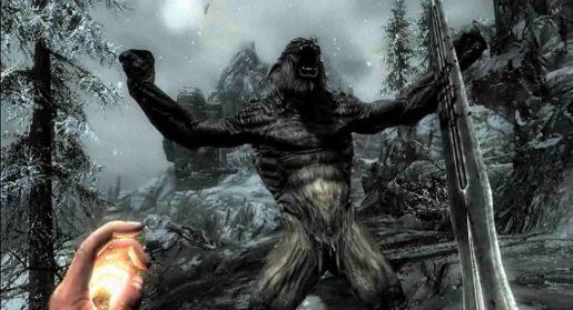Werebear Vs Werewolf Skyrim