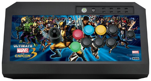 Ultimate Mvc3 Hori Fighting Stick Coming To Us Just Push