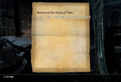 Skyrim Sidequest - Uncovering 'The Forsworn Conspiracy'