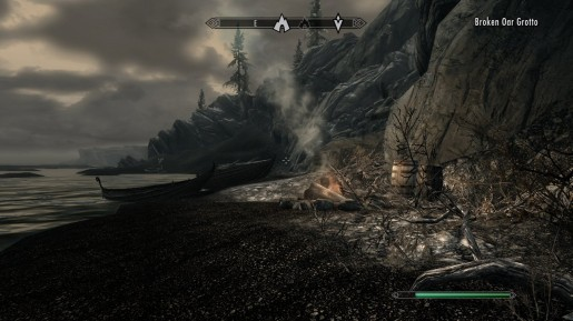 how to start broken shore quest
