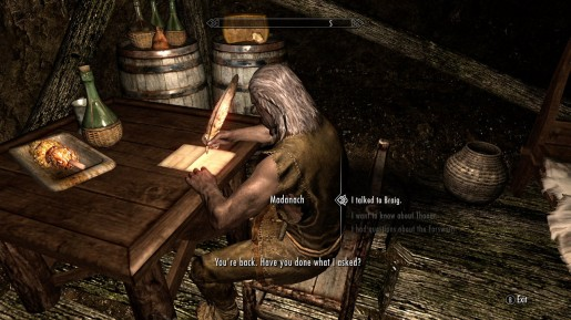 skyrim how to get out of cidhna mine after quest