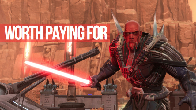 Star Wars: The Old Republic Will Not Become Free-To-Play