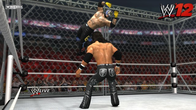A Sick Move Executed In WWE '12 - Just Push Start