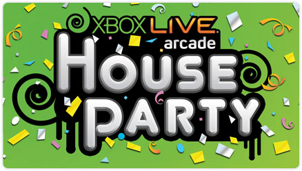Four games get together for Xbox Live House Party