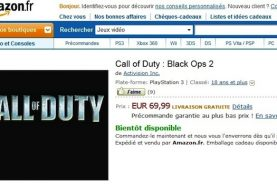 Call of Duty Black Ops 2 Listed on Amazon France
