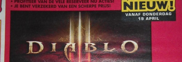 Diablo III Release Date Outed By Dutch Toy Store?