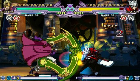 New BlazBlue Continuum Shift Extend PSP Screenshots