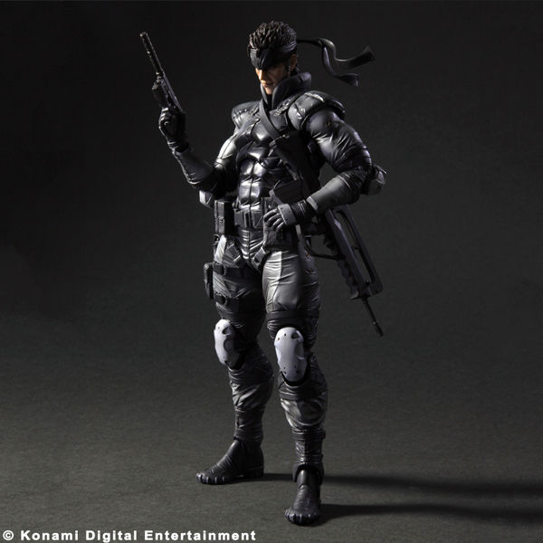 Solid Snake Play Arts Kai Figure Revealed