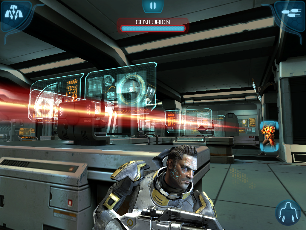 Скачать Mass Effect Infiltrator для HTC (Desire S, V, Z) .