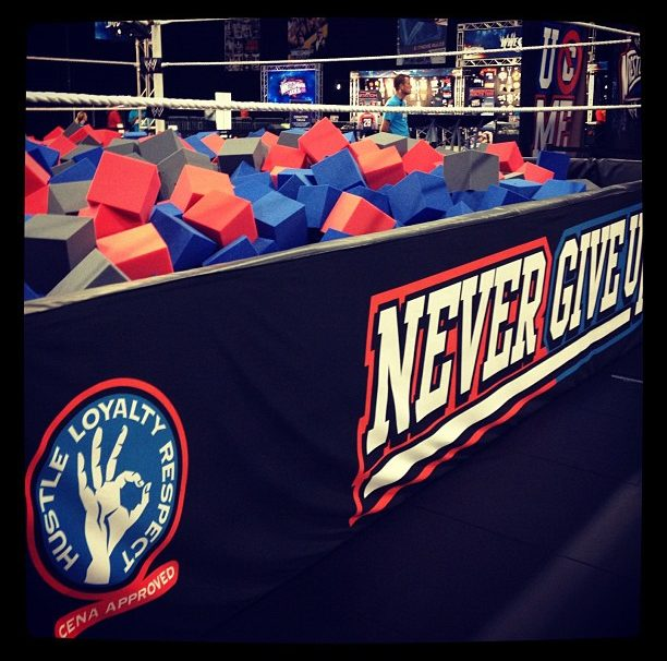 "John Cena ""Never Give Up"" Ring To Be Featured In WWE '13"