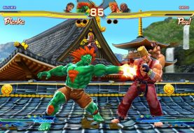 Street Fighter X Tekken PS Vita Screenshots Punching In
