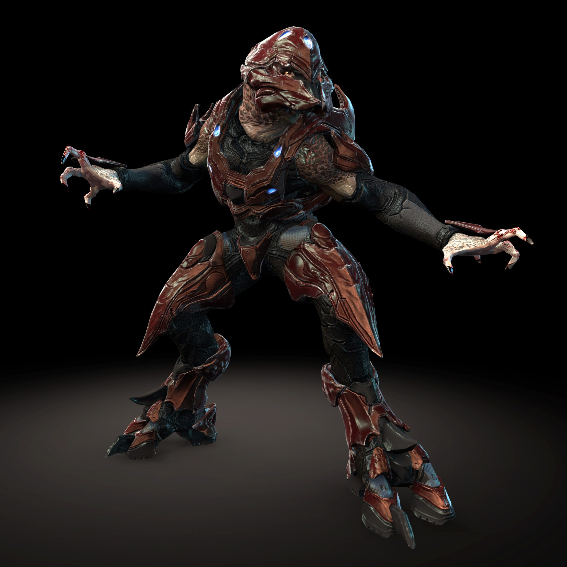 Halo 4 new leaked images reveals new enemies more just - Halo 4 pictures ...