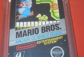 Sealed Mario Bros. Game Listed on Ebay