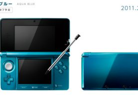 Nintendo Pulling Out the Aqua Blue Nintendo 3DS
