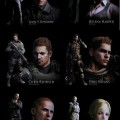New Resident Evil 6 Image Shows Off Cast