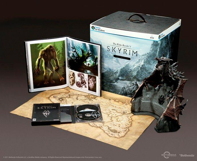 Skyrim Collector's Edition Receives Massive Discount ...