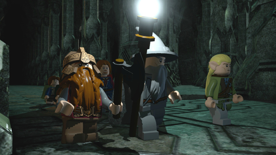 First Trailer And Screenshots For LEGO Lord of the Rings