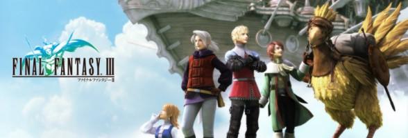 PSP Final Fantasy III Teaser Trailer And Screenshots