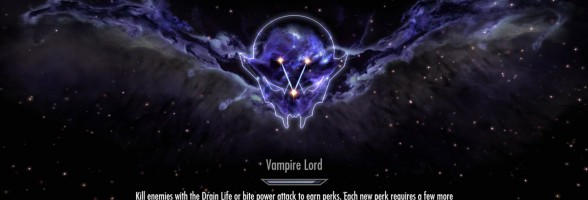 E3 2012: Skyrim Dawnguard DLC – Vampire Lord Perk Detailed