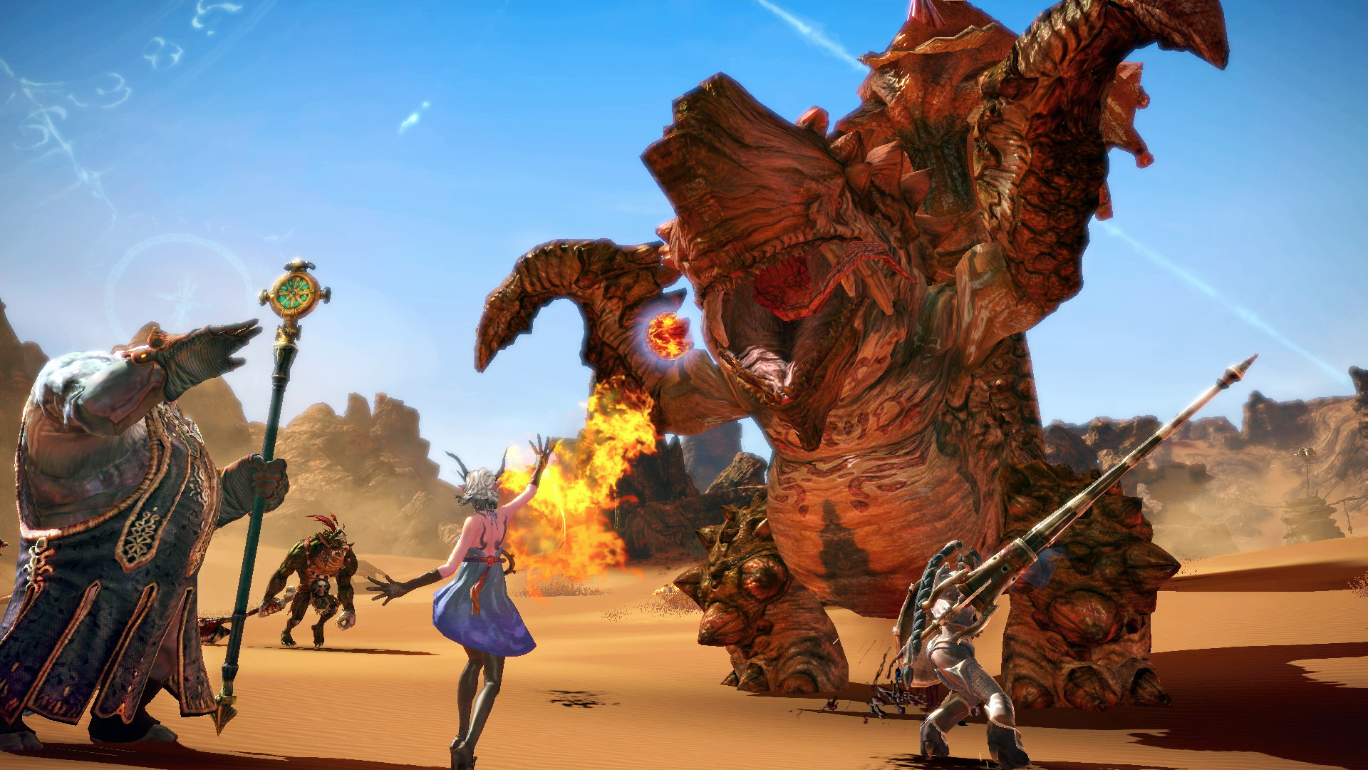 tera fighter game