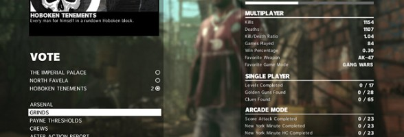 Max Payne 3 Title Update Finally Improves MP Load Times, More