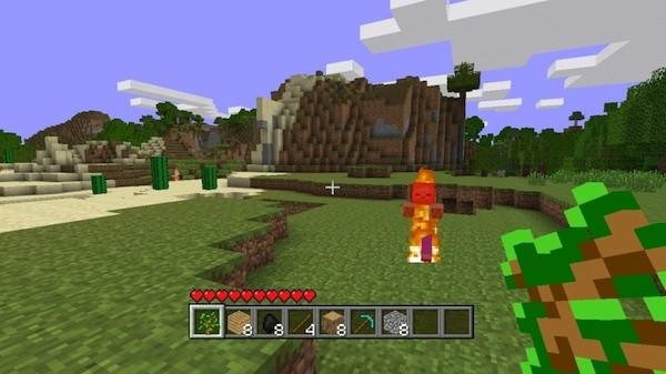 Minecraft Xbox 360 1