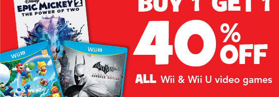 "Toys""R""Us Offering Early WiiU Adopters Discounted Titles"