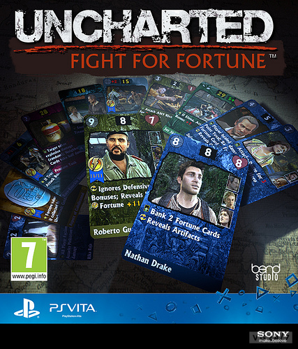 Uncharted: Fight For Fortune Announced For PS Vita, Trailer Inside