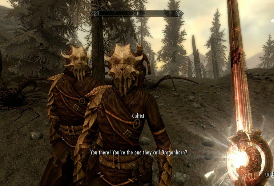 Skyrim Dragonborn DLC – Initiating the 'Dragonborn' main questline