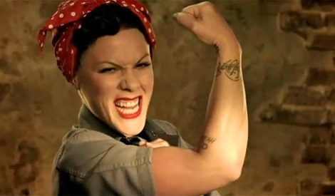 Pink And Others Join Rock Band