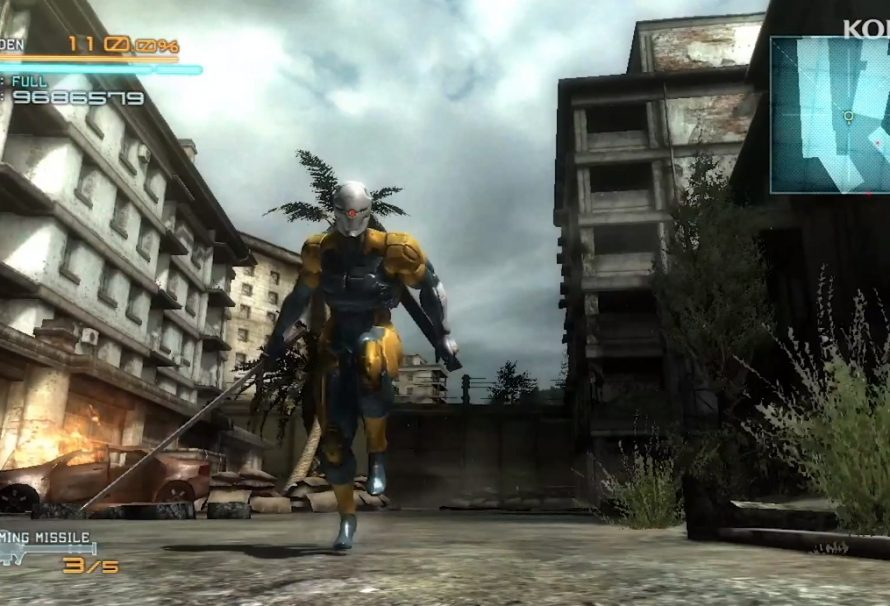 Kojima Wanted Gray Fox As Main Star In Metal Gear Rising