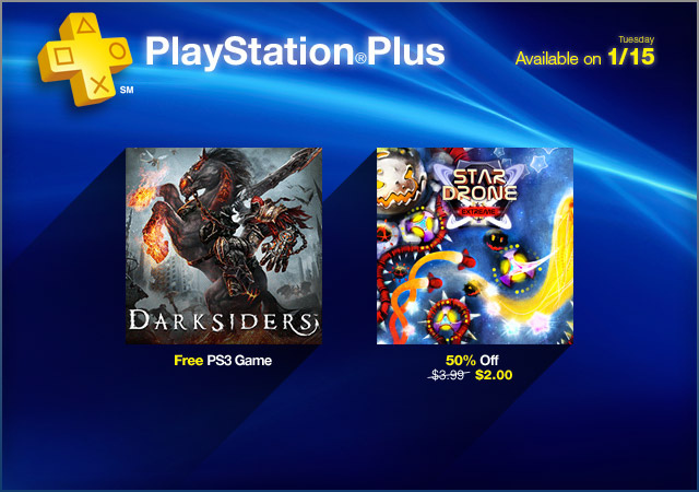 Darksiders Free for PlayStation Plus Members