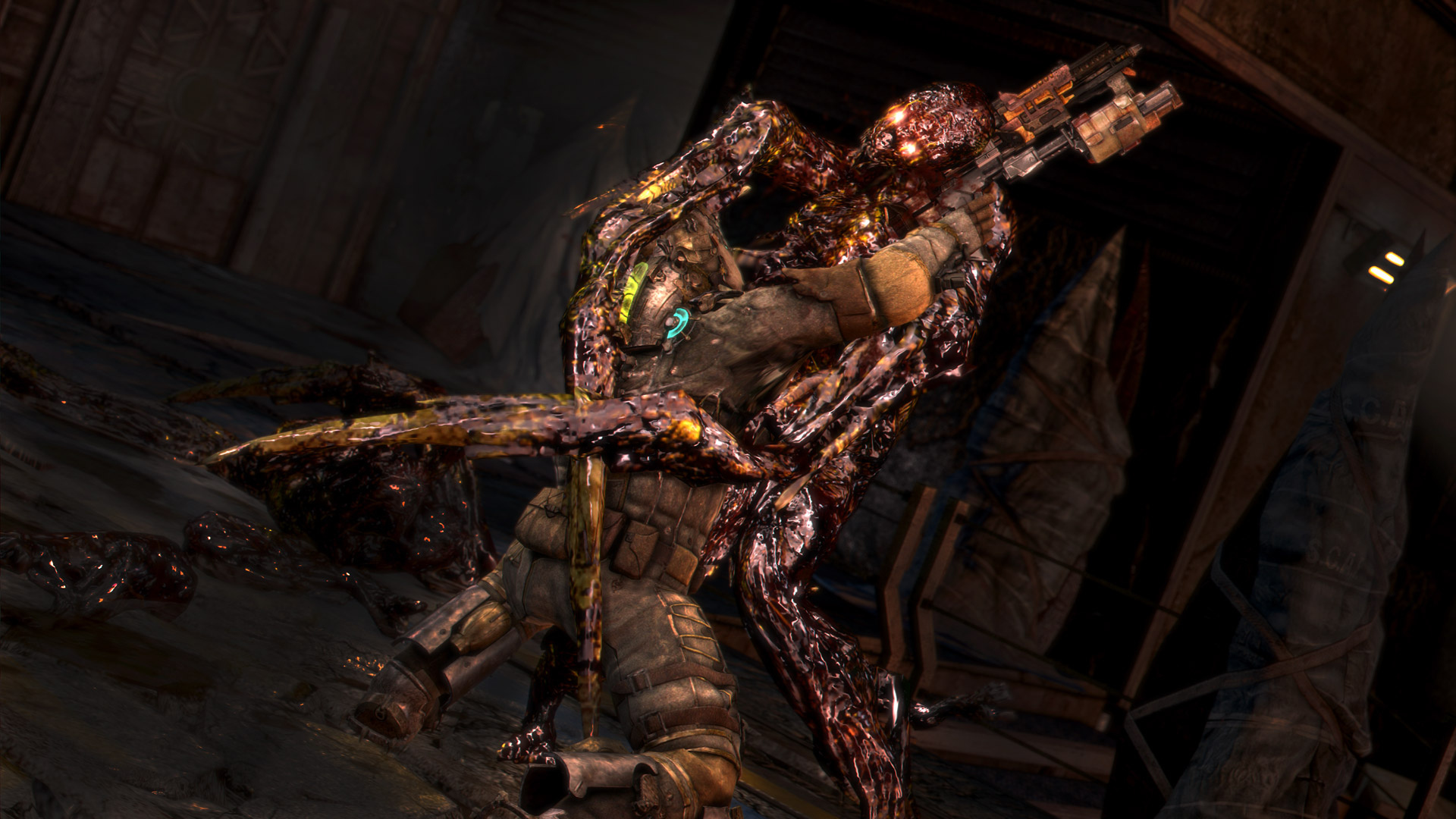 Since Dead Space 3 released earlier this week  a number of game    Dead Space 3 Monsters