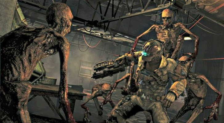New Dead Space 3 Screenshots Show Off The Feeder Enemies Just Push Start
