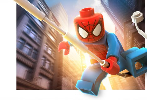 LEGO Marvel Super Heroes Character Renders & Concept Art