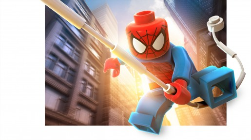 Spider-Man LEGO Marvel Super Heroes Render