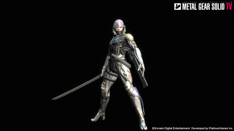 Metal Gear Rising Gets Metal Gear Solid 4 Raiden