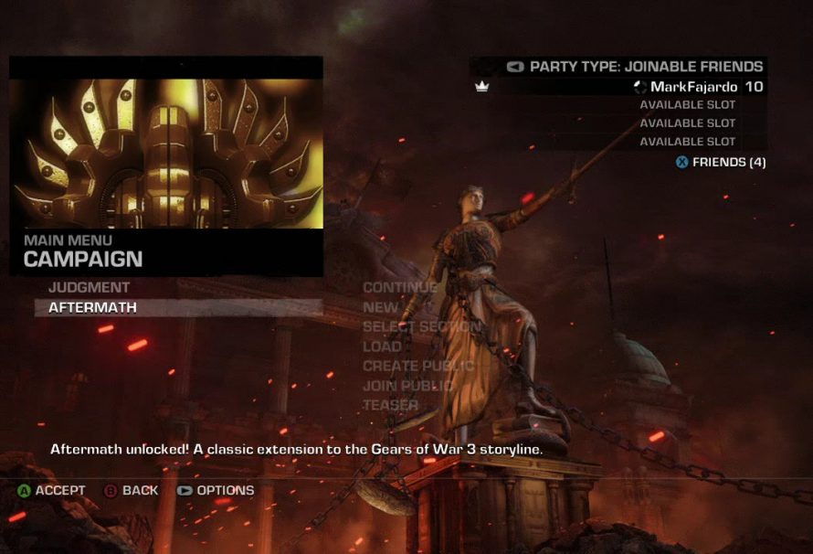 Gears of War Judgment – How to unlock the 'Aftermath' Campaign