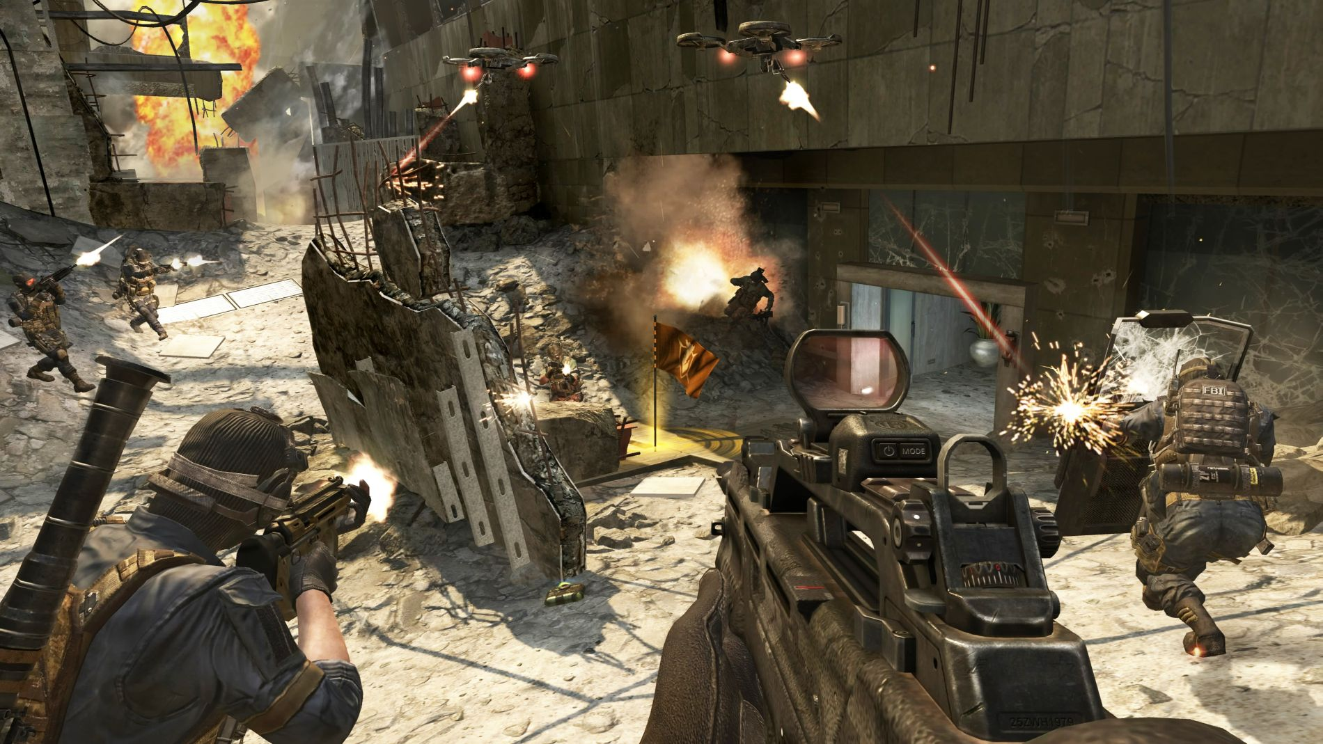 call of duty black ops 2 pc version receives big update. Black Bedroom Furniture Sets. Home Design Ideas