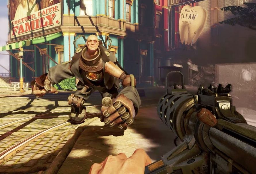 BioShock Infinite Tops UK Video Games Chart