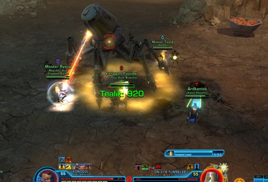 SWTOR Rise of the Hutt Cartel- Hammer Station HM Flashpoint Guide