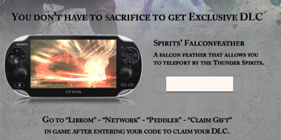 Check your Email for Some Free Soul Sacrifice DLC