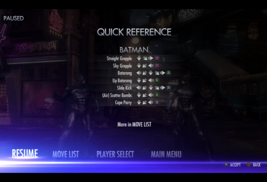 """How to Enable """"Capcom"""" Style Controls in the Injustice: Gods Among Us Demo"""